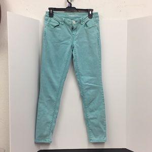 Aeropostale Womens Lola jegging pants size 8 blue